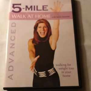 5 mile walk at home, advanced